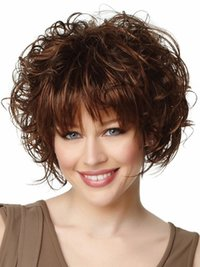 High Quality Human Hair Curly Wigs