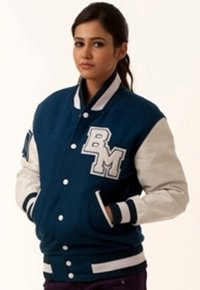 White Varsity Jacket