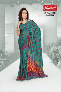 102 B Printed Fancy Sarees