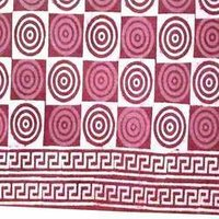 Block Printed Bed Sheet