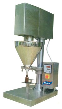 Semi Automatic Augur Filler For Dry Syrup