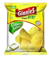 Ginnies Potato Chips Classic Salted