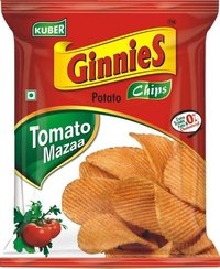 Ginnies Potato Chips Tomato Mazaa