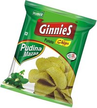 Ginnies Potato Chips Pudina Mazaa