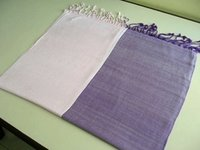Viscose Double Color Shawls In Weaving