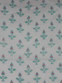 Running Printed Cotton Fabric