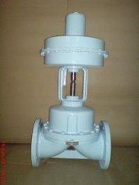 Pneumatic Actuator Operated Diaphragm Valve