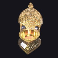 Kamatchi Brass Oil Lamp Deepam