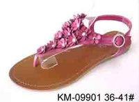 Lady Shoe Flat Sandals