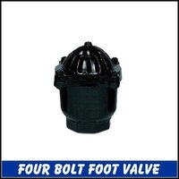 Four Bolt Foot Valve