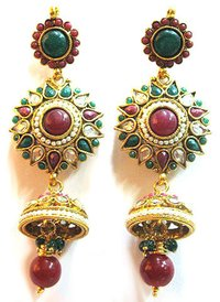 Design Polki Earrings 