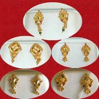 Gold Tops Earings