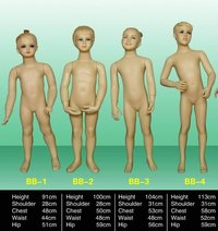Baby Mannequins(Bb1-Bb4)