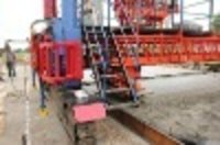 Sensor Concrete Road Paving Machine