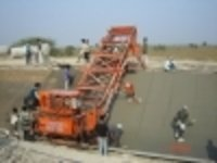 Canal Paver Construction Machine