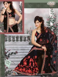 Hand Work Fancy Sarees