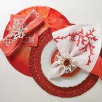 Place Mat & Napkin Ring