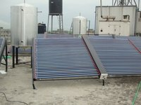 Solar Water Heater Evacuated Tube Collector (Etc)