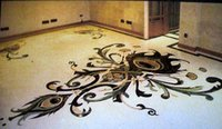 Decorative Marble Floor Inlay