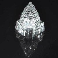 Crystal Sriyantra ( Sphatik Sriyantra )