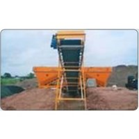 Cement Hopper With Screw Conveyor