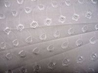Eyelet Embroidered Fabric