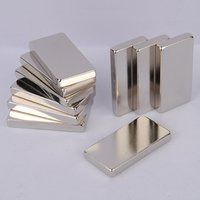 Zinc Plating Neodymium NdFeB Electro Magnets Block N35