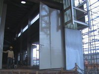 Heavy Openable Steel Doors