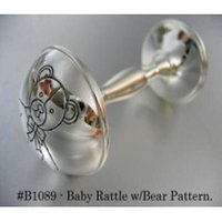 Baby Rattle With Bear Pattern