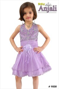 Girl Purple Frocks