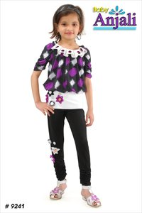 Purple Color Girl Kurti