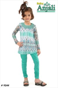 Full Sleeves Girls Kurti