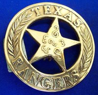 Texas Ranger Badges