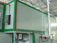 Combination Of Drying And Curing Oven