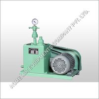 Oil Sealed High Vacuum Pumps