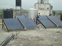 Solar Water Heatervpuf Insulated System(Etc,Fpc)