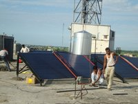 Tripple Layer Solar Water Heater(Evacuated Tube Collector )