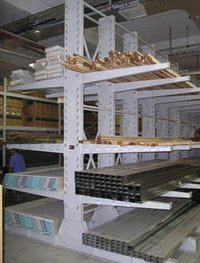 Cantiliver Shelving System