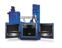 Airless Blasting Machine Swing Table Type
