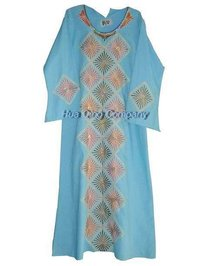 Arabian Embroidered Robes For Lady Hq0120