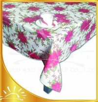 Polyester Printed Table Cloth