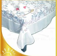 Polyester Burnout Voile Table Cloth
