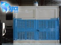 Water Curtain Paint Booth