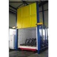Oil Fired Bogie Hearth Industrial Furnaces