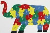 Elephant Wooden Puzzle