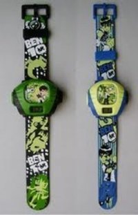 Led Kids Wrist Watch Projector