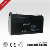 NP100-12 Lead Acid Battery