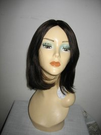 Middle Length Human Hair Wig