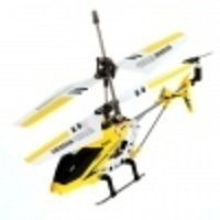 3-Channel Radio Helicopter with Remote Control - S107G (Yellow)