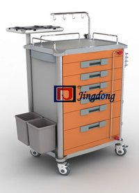Emergency Trolley In Medical Furniture